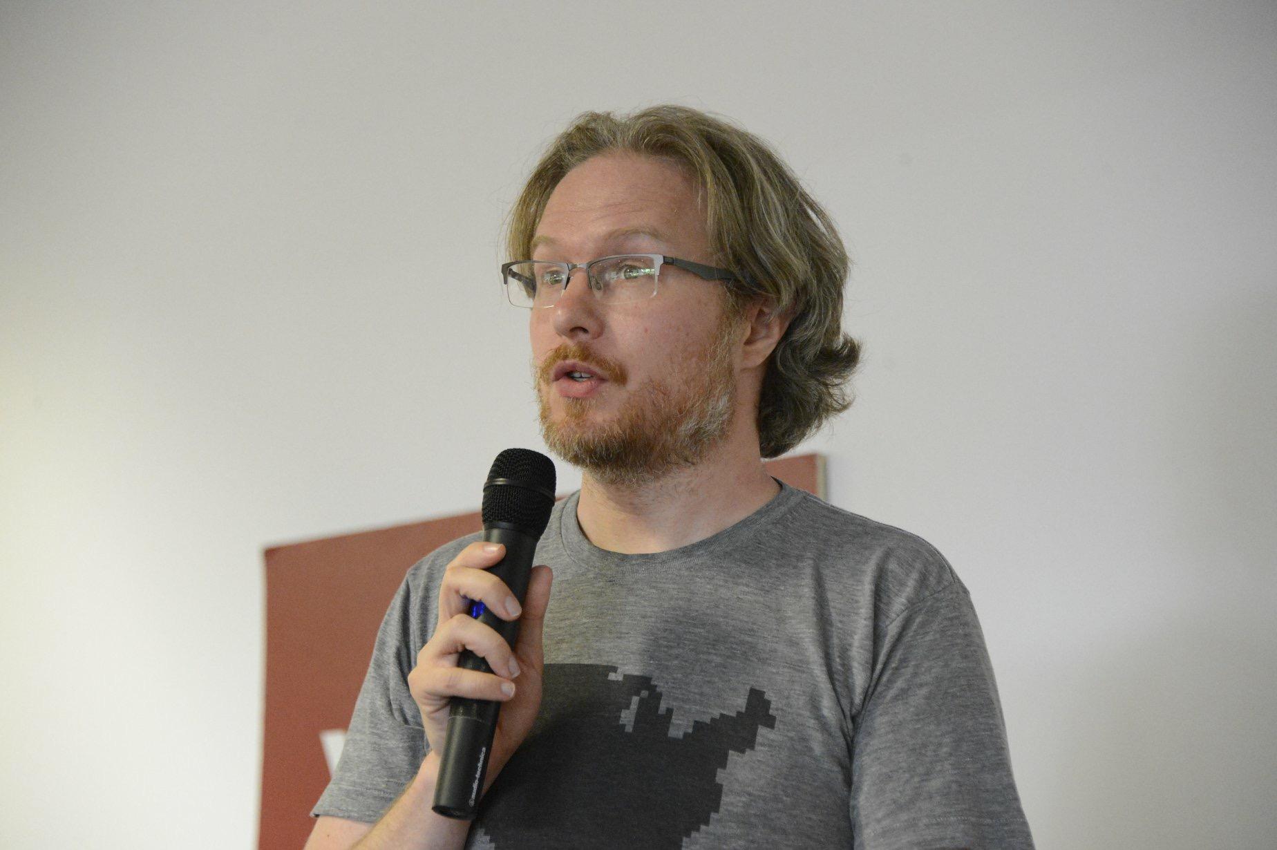 Mark Fowler talking at TPC Europe 2018